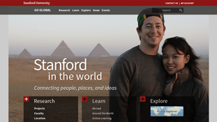 Stanford Global Portal Redesign