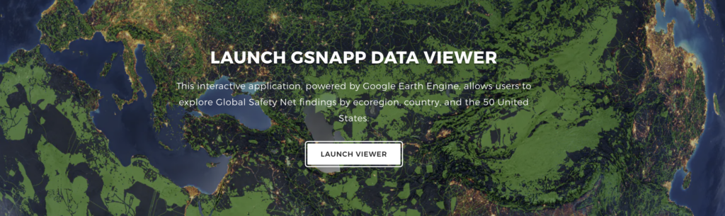 Global Safety Net Application Map